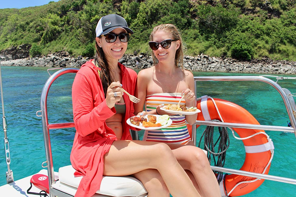 Gemini Charters - Snorkel Sailing