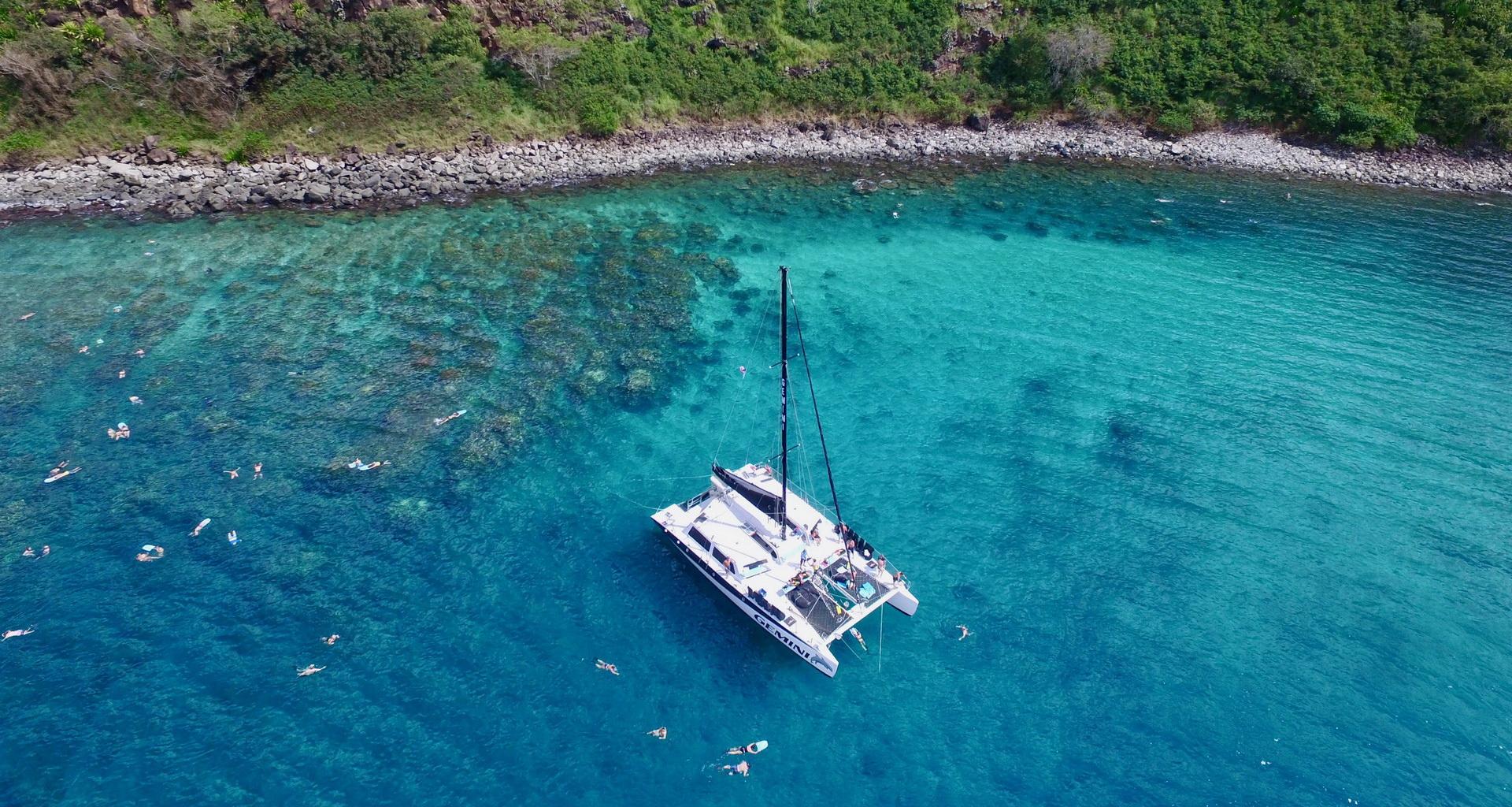 Gemini Sailing Charters Slider